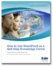 How to Use SharePoint as a Self-Help Knowledge Center