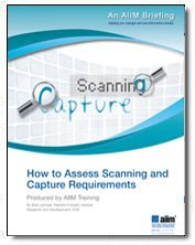 How to Assess Your Scanning and Capture Requirements
