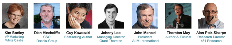 AIIM14 Keynote Speakers