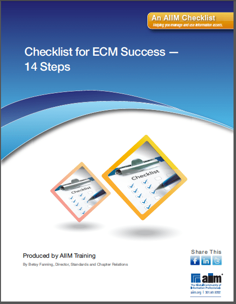 14 Steps to a Successful ECM Implementation
