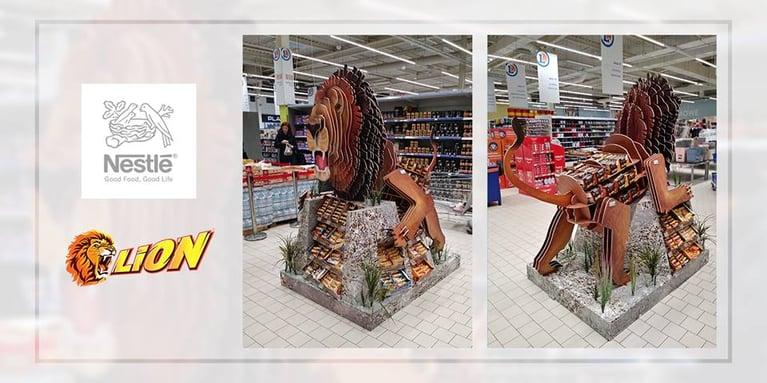 Nestle Lion positioning