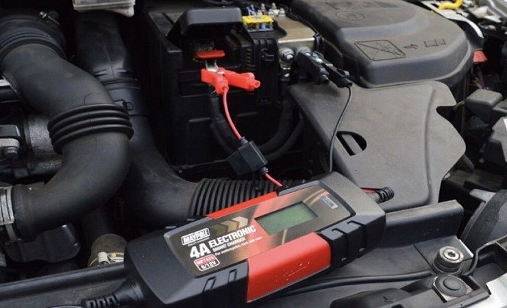 trickle chargers and jump leads to charge your flat battery