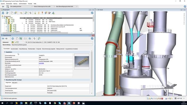 Mithilfe des SAP Engineering Control Centers integriert KHD die Engineering-Daten an mehr als 200 Autodesk Inventor- und AutoCAD-Arbeitsplätzen direkt in SAP ERP. Konstrukteure arbeiten mit dem im SAP ECTR integrierten 3D Viewer in ihrer vertrauten Ansicht.