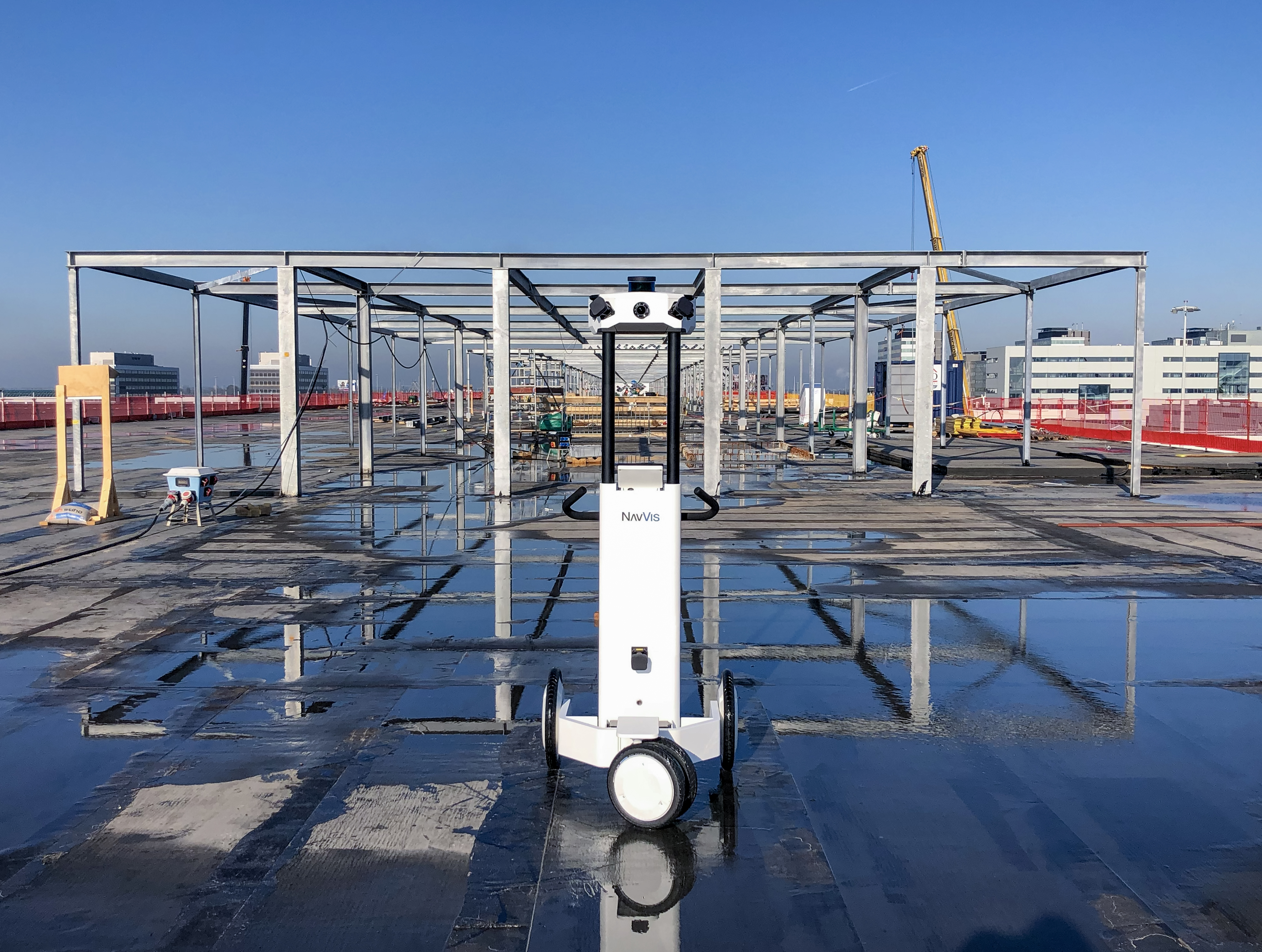 Scanning a construction project at one of Europe's busiest airports | ...