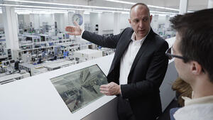 The Siemens digital factory twin, powered by NavVis