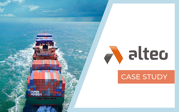 Alteo shipping transportation