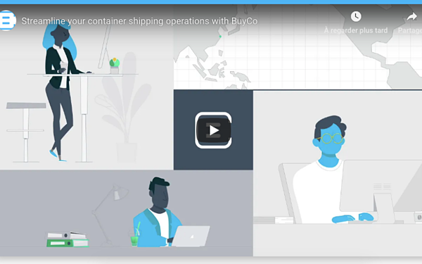 Container shipping management