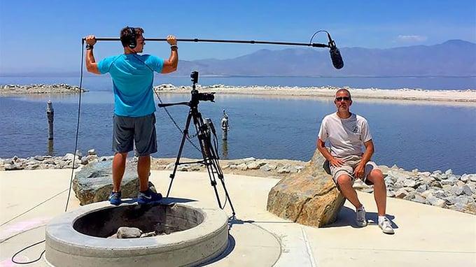 SOS: The Salton Sea Walk Directed By Corbin Sanders