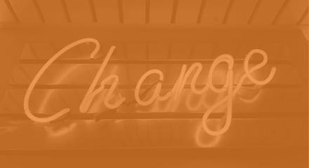 Change neon sign_medOrange
