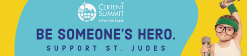 St. Jude Children's Hospital is the community give back recipient at Certent's 8th Annual Equity Summit