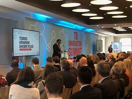 Photo from TB Innovation Summit – sponsored by our members, Johnson & Johnson