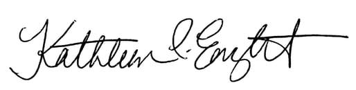 Kathleen Enright Signature