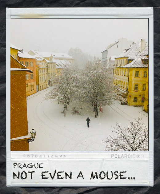 snow-prague