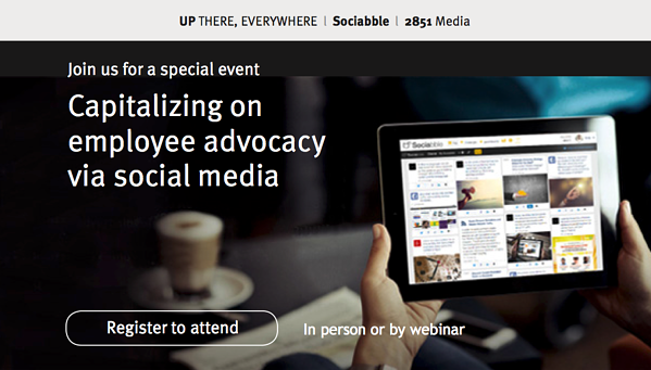 Social Media & Employee Advocacy Webinar and Demo