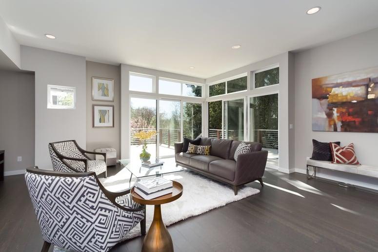 Seattle Bainbridge Island | Home Builder | Living Room |Blackwood Builders Group