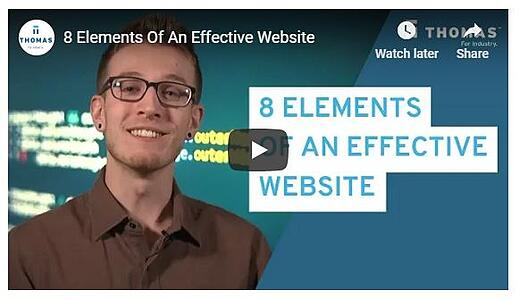 8 Elements of Effective Industrial Website