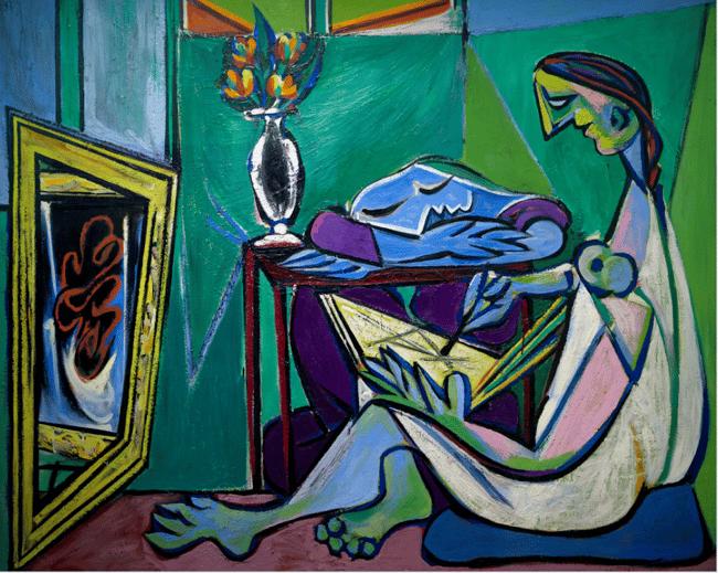 The Muse, La Muse, by Pablo Picasso, 1935, Centre Pompidou, Paris, France, Europe