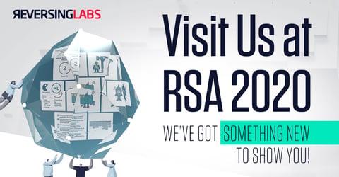 Visit Us at RSA 2020