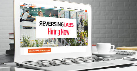 VentureFizz highlights ReversingLabs as one of the Top CyberSecurity Companies Hiring Now