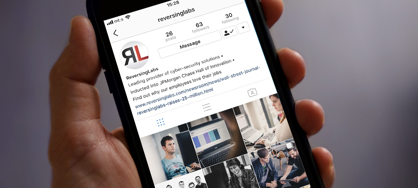 ReversingLabs presents the official RL Instagram account!
