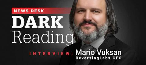 Live Interview: Mario Vuksan sits down with Dark Reading News at BlackHat USA 2018