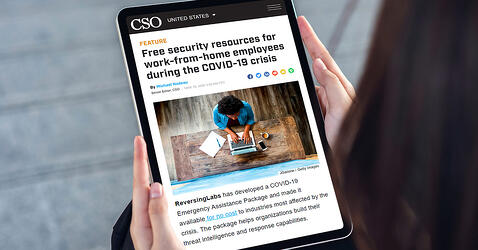 CSO: Free security resources for work-from-home employees during the COVID-19 crisis