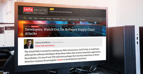 Infosecurity: Developers: Watch Out for Software Supply Chain Attacks