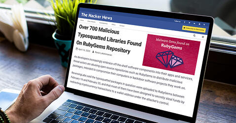 The Hacker News: Over 700 Malicious Typosquatted Libraries Found On RubyGems Repository
