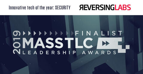 ReversingLabs selected as Finalist for 2019 Technology Leadership Awards - Innovative Tech of the Year
