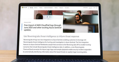 Microsoft Recognizes ReversingLabs for its Qualified MISA (Microsoft Intelligent Security Association) Integration