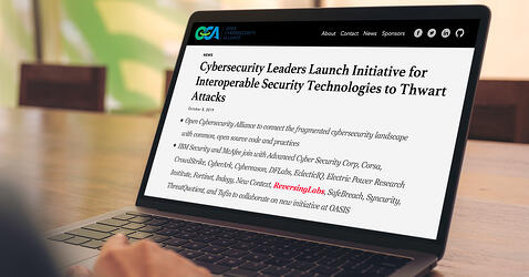 OASIS Announces Security Industry Initiative to Thwart Attacks