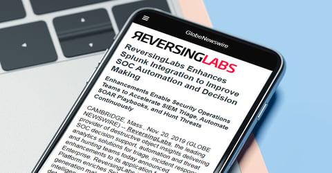 ReversingLabs Enhances Splunk Integration to Improve SOC Automation and Decision Making