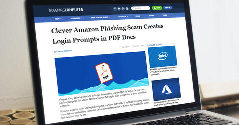 BleepingComputer Calls Out ReversingLabs Research on Phishing PDFs