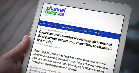 Cybersecurity vendor ReversingLabs rolls out first partner program in transition to channel-led model