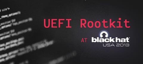 UEFI Rootkit Detection Framework at Black Hat 2013