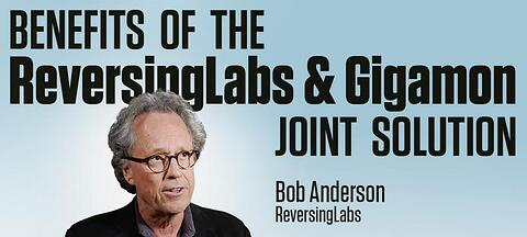Bob Anderson, ReversingLabs Major Accounts Director Presenting the Benefits of the ReversingLabs & Gigamon Joint Solution