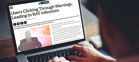 eWeek: Cisco Talos and ReversingLabs warn that the Adwind Remote Access Trojan (RAT) has added capabilities that enable it bypass some anti-virus technologies