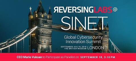ReversingLabs sponsors SINET London