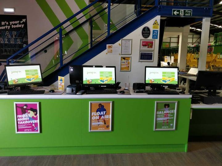 Jump In Makes Improvements Through Self-Serve Kiosks