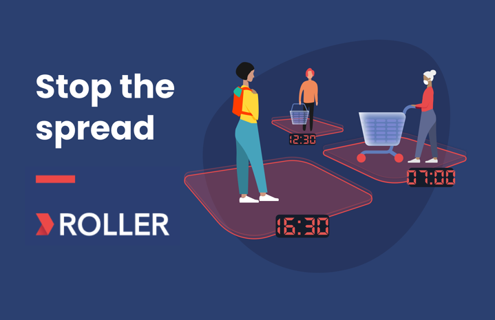 Use ROLLER's 'Visitation-Management-Platform' to help stop the spread