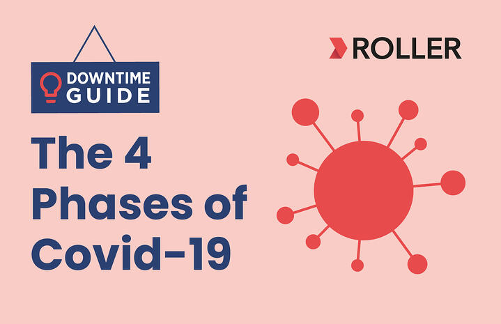 Downtime Guide - The Four Phases of Covid-19