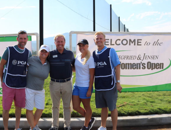 Darci Olsen_Utah Women's Open_with Family