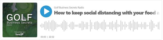 golf business secrets radio from foreUP