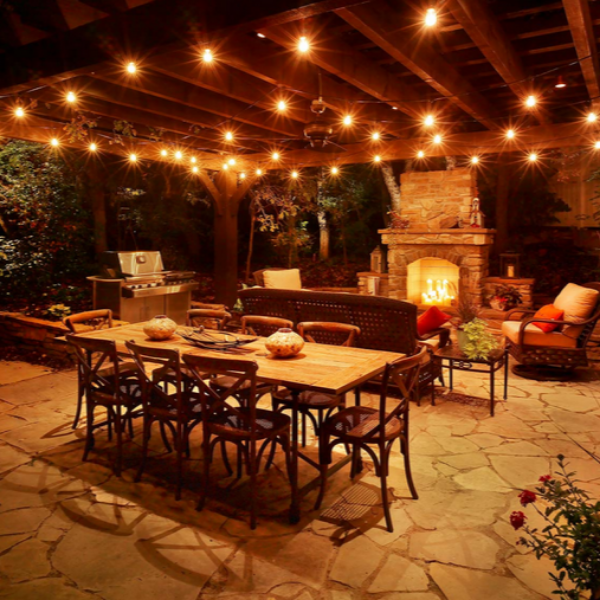 Landscape Lighting Utah: Our 4 Favorite Patio, Pergola And Deck Lighting Design Tips