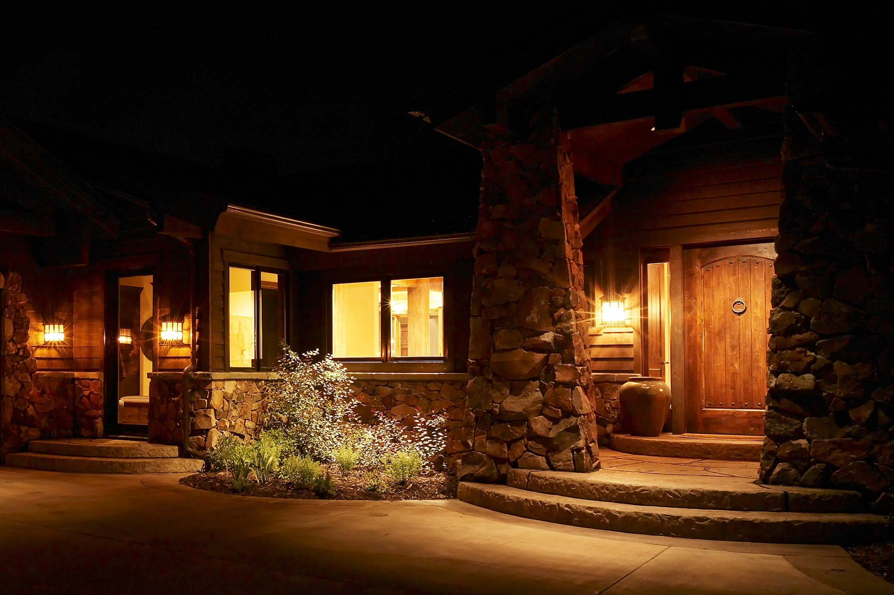 Lighting Basement Washroom Stairs: Outdoor Residential Security Lighting Ideas And Pictures