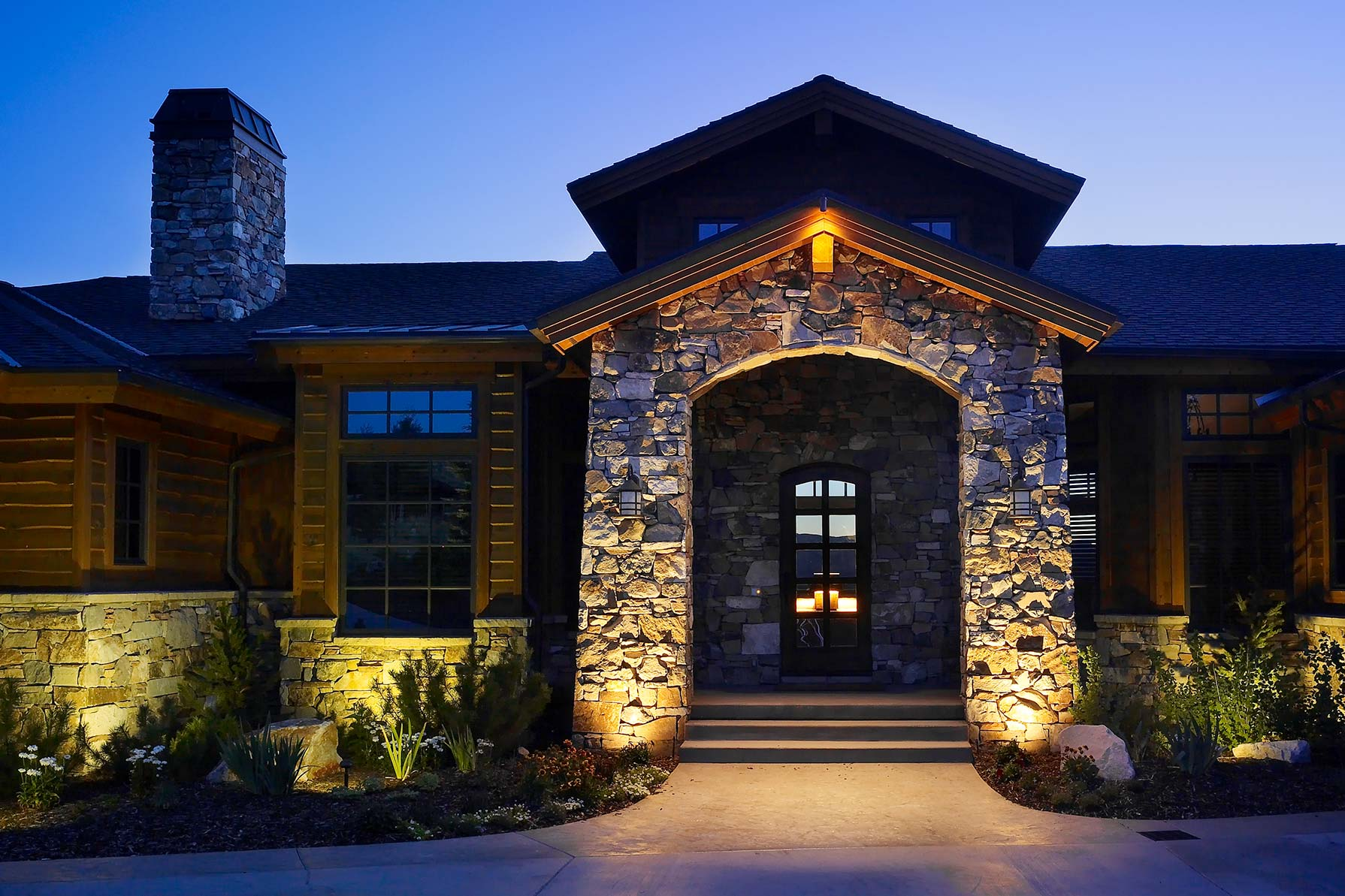 Outdoor Security Lighting Salt Lake City Park Utah