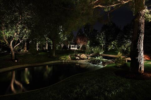 pond-pool-and-water-feature-tree-lighting-holladay-utah