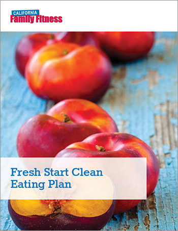 cover of clean eating ebook from cal fit