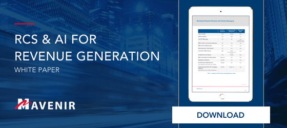 RCS & AI for Revenue Generation