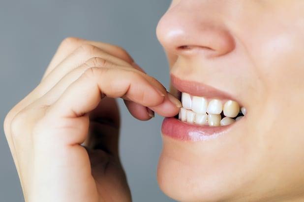 How Nail Biting Damages Teeth